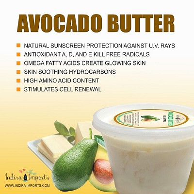 Natural Avocado Butter