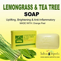 Lemongrass and Tea Tree Soap