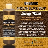 Organic African Black Soap Liquid